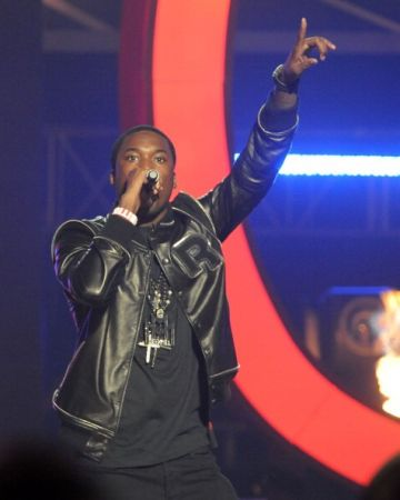 Meek Mill performing live
